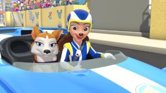 Mickey and the Roadster Racers: Season 1: Ready, Get Pet..... Go Pluto! / Figaro's New Friend!