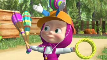 Masha and the Bear: Season 2: Terrible Power / Hat Trick / Two Much